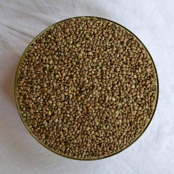 Zelená Země Konopné semínko neloupané BIO 500g