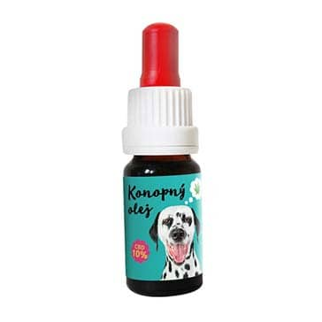 CBD olej pro zvířata 10%