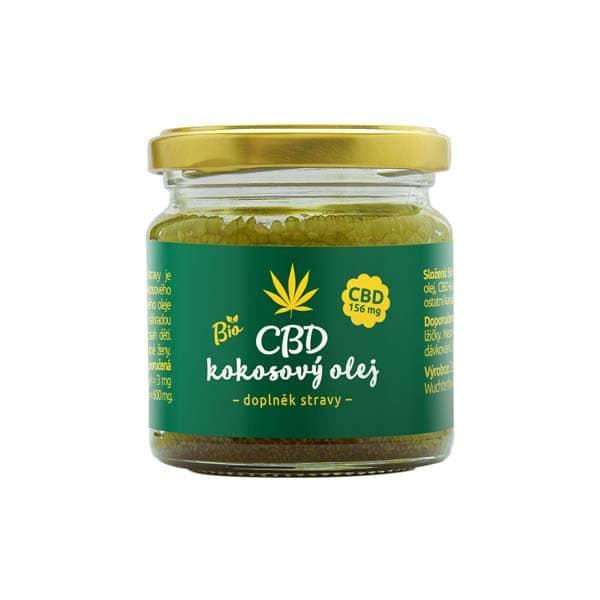 Zelená Země CBD kokosový olej 30ml