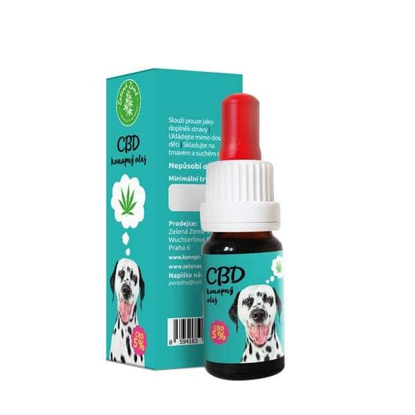 CBD olej pro zvířata 5%