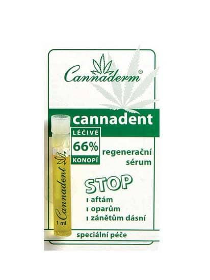 Cannaderm Cannadent regenerační sérum 1,2 ml