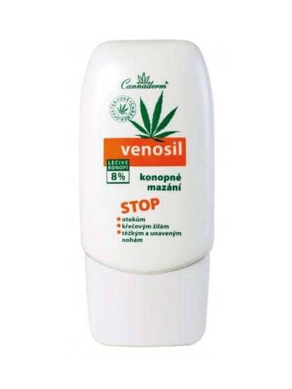 Cannaderm Venosil konopné mazání na žíly 100 ml