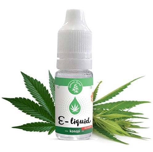 Zelená Země CBD e-liquid, příchuť Konopí OG KUSH 10ml