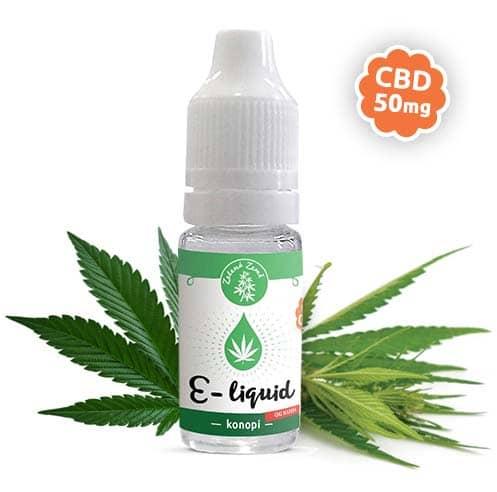 Zelená Země CBD e-liquid, příchuť Konopí OG KUSH, 10ml