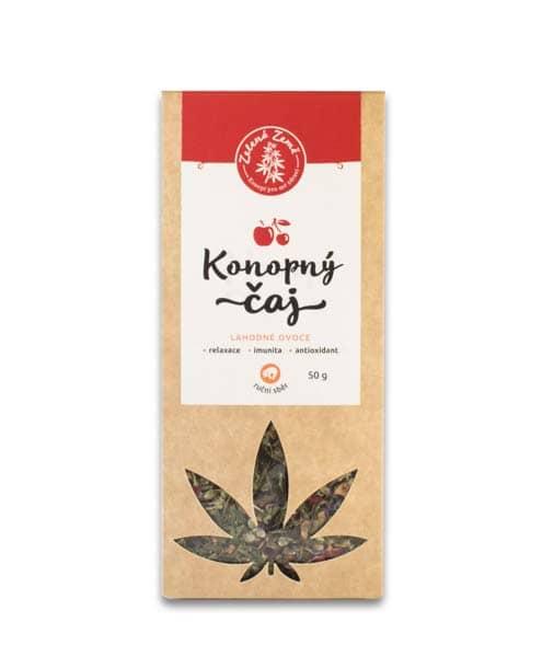 Zelená Země Konopný čaj ovocný 50g