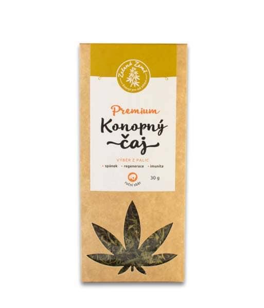 Konopný čaj Premium 30g