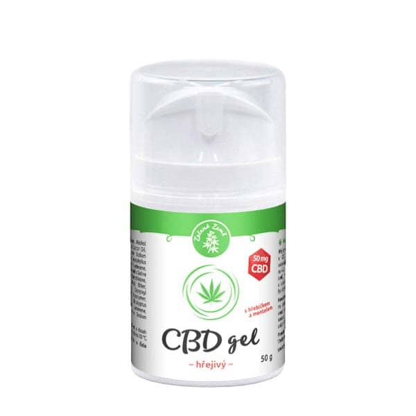 CBD hřejivý gel 50 g
